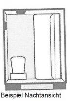 """Kabine Typ C """"Bedroom Compartment"""""""