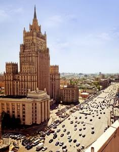 Auswertiges Amt in Moskau